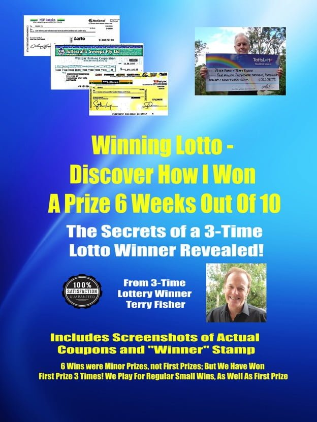 Winning Lotto - Discover How I Won a Prize 6 Weeks Out Of 10